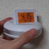 振動式の目覚まし時計ADESSOを購入レビュー【遅刻できない朝におすすめ】